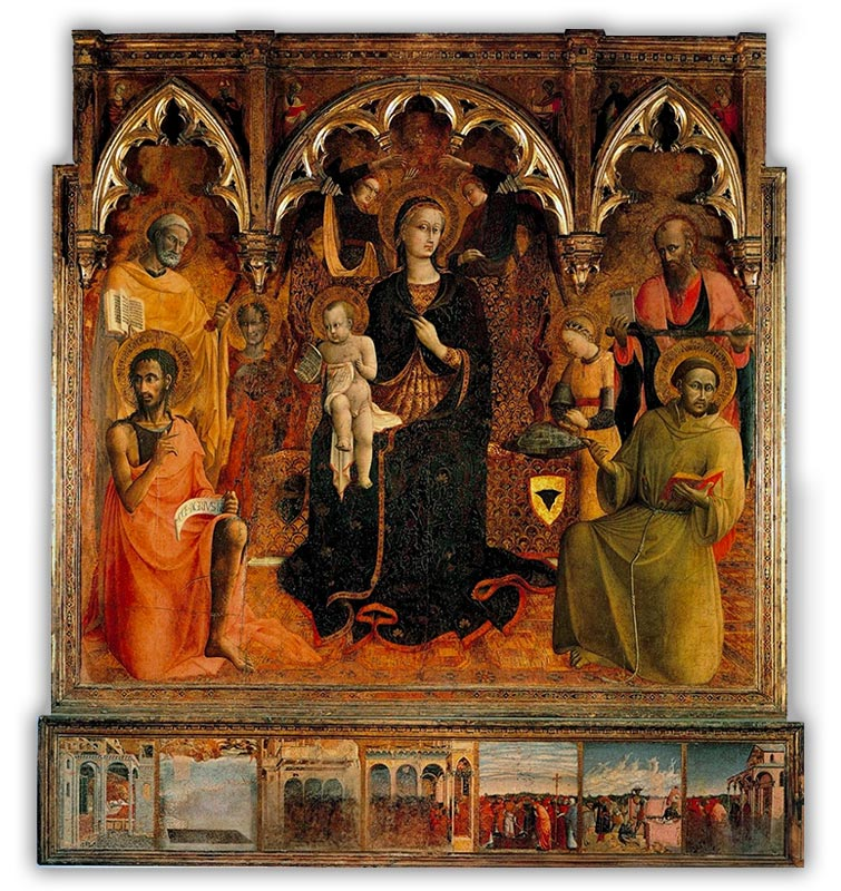 Sassetta's Our Lady of the snow bettys luxury travels