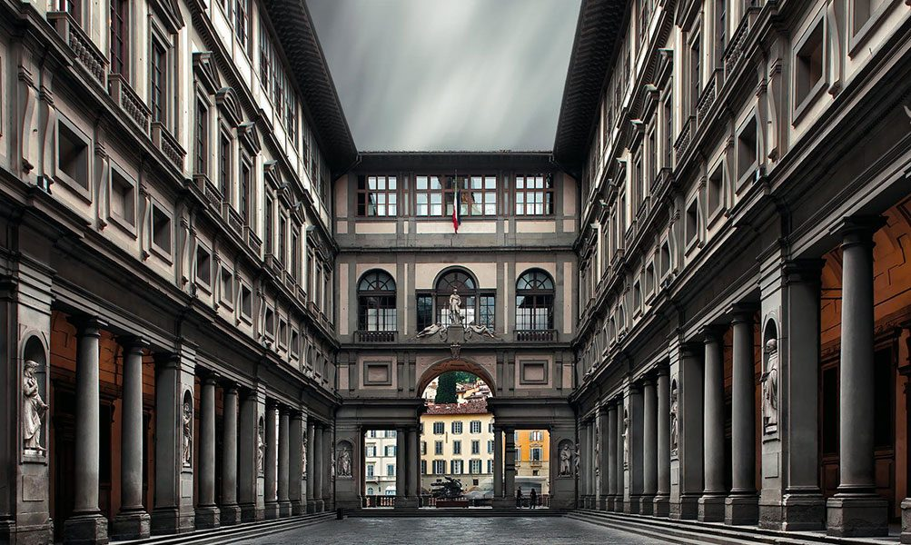 While In Florence The Contini Bonacossi Collection