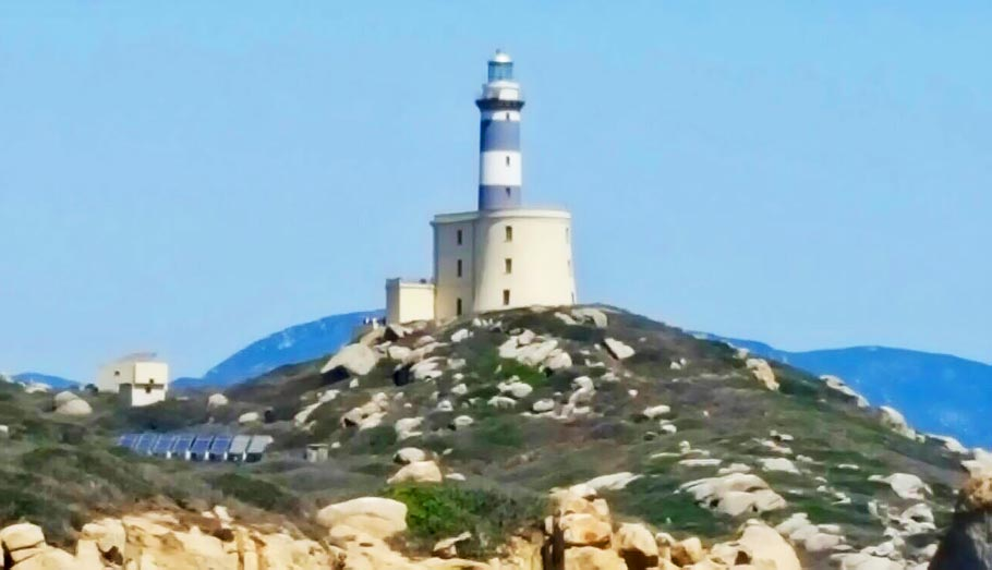 lighthouse sardinia